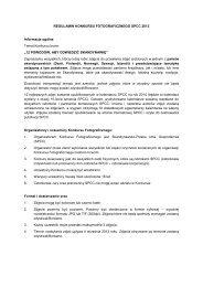 Regulaminie Konkursu. - Skandynawsko-Polska Izba Gospodarcza