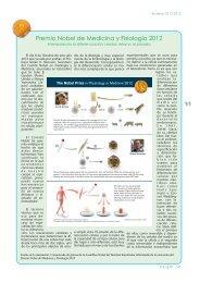 Premio Nobel de Medicina y Fisiología 2012 - Encuentros en la ...