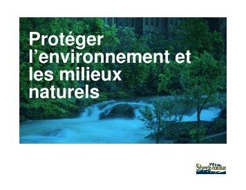 Énoncés 2 et 3 (PDF - 7,1 Mo) - Ville de Sherbrooke