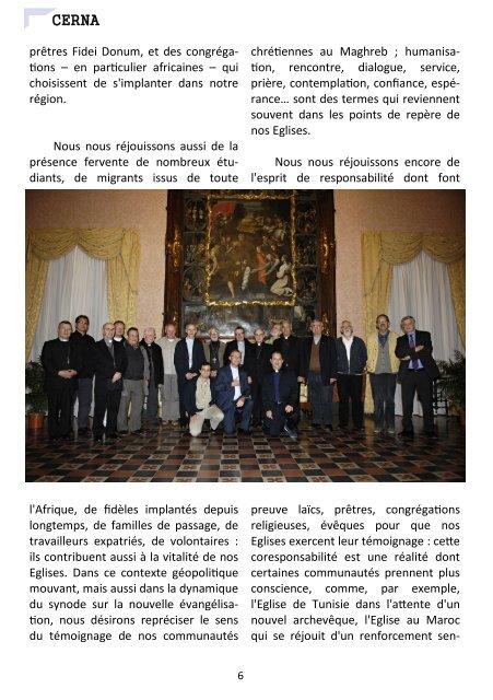 Décembre 2012 - Église Catholique d'Algérie
