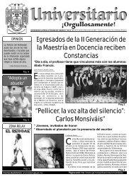 No. 49 · Lunes 03 de nov 2003 - Publicaciones - Universidad Juárez ...