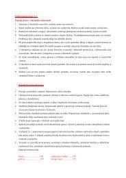 Zásady práce v laboratoři - Chemie na GJO
