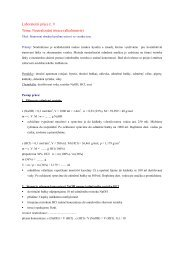 alkalimetrie - Chemie na GJO