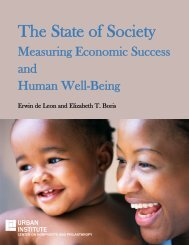 The State of Society - Center for Partnership Studies