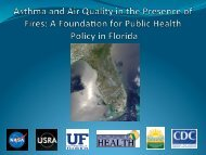a Foundation for Public Health Policy in - NASA