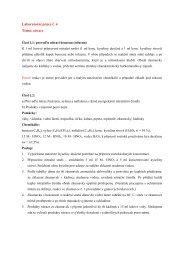 Laboratorní práce č. 4 Téma: nitrace - Chemie na GJO