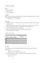 Příprava plynů III - Chemie na GJO