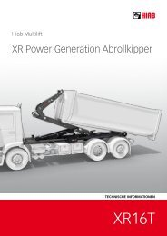 XR Power Generation Abrollkipper - HIAB Multilift Rhein-Main GmbH