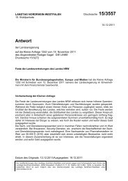 Drs. 15/3557 vom 14.12.2011 - Sagel, Rüdiger (Die Linke)