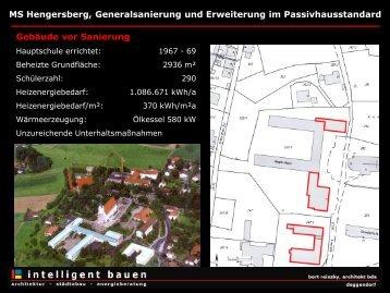 MS Hengersberg, Generalsanierung und Erweiterung im ...