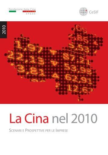 La Cina nel 2010