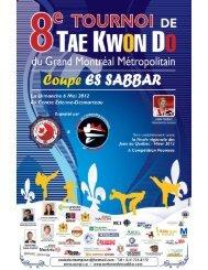 8e Tournoi du Grand Montréal Métropolitain - Taekwondo Québec