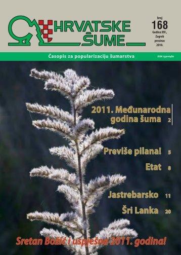 Šume ustupaju pred plantažama - Hrvatske šume