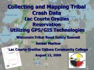 Collecting & Mapping Tribal Crash Data