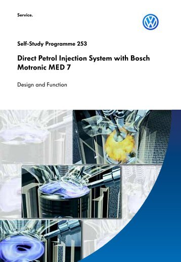 Direct Petrol Injection System with Bosch Motronic MED 7 - Volkspage