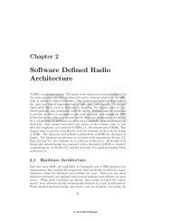 Software Defined Radio Architecture