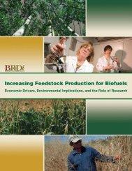 Increasing Feedstock Production for Biofuels - EERE - U.S. ...