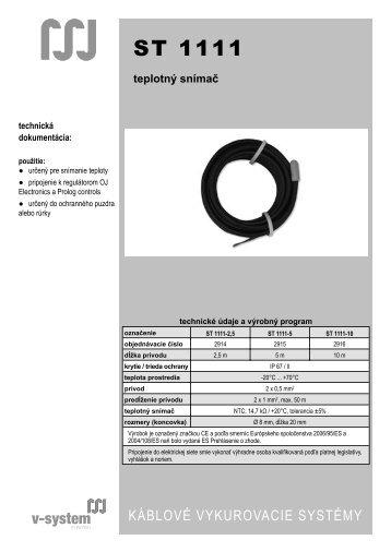 ST 1111 - V-System elektro