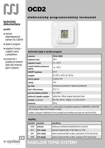 OCD2 - V-System elektro