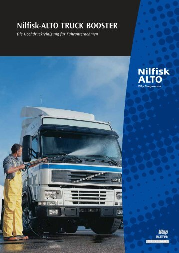 Nilfisk-ALTO TRUCK BOOSTER - Robe Reinigungsmaschinen GmbH