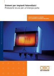 Sistemi per impianti fotovoltaici - OBO Bettermann