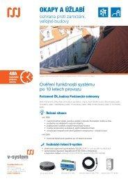OKAPY A ÚŽLABÍ - V-System elektro