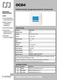 OCD4 - V-System elektro