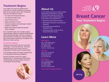 Treatment Begins - Canadian Breast Cancer Foundation
