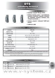 DTS - V-System elektro
