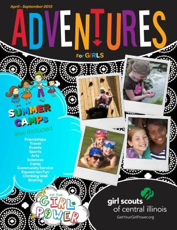 SUMMER CAMPs - Girl Scouts of Central Illinois