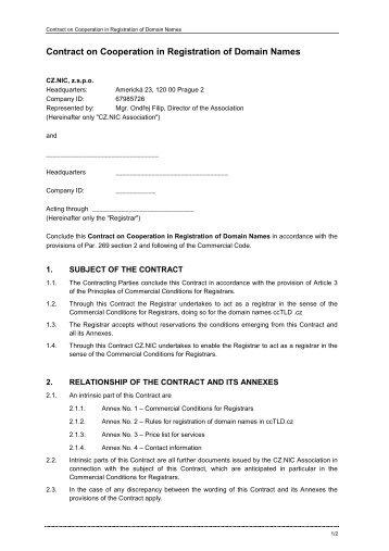 partner agreement contract