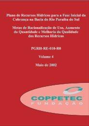 Volume 4 - Laboratório de Hidrologia e Estudos do Meio Ambiente ...