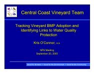 Clean Water Project PowerPoint Presentation - Central Coast ...