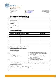 Beitrittserklärung Wien (PDF) - CISV