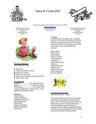 K-L Flier - June - 2013 - Greater Nanticoke Area School District