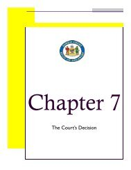 CHAPTER 7 - Delaware State Courts