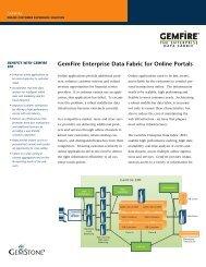 GemFire Enterprise Data Fabric for Online Portals - GemStone ...