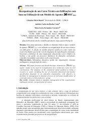 Reorganização de um Curso Técnico em Edificações ... - cinted/ufrgs