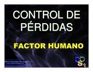 FACTOR HUMANO - Consejo Colombiano de Seguridad