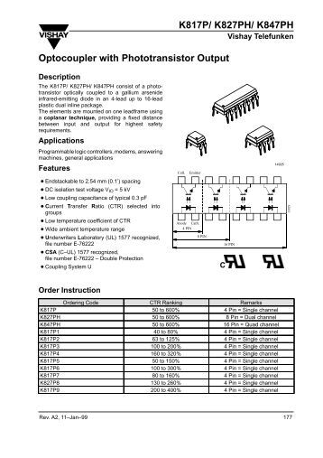 4N25 Datasheet PDF - Alldatasheet