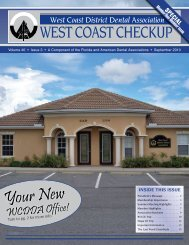 Your New - West Coast Dental Association