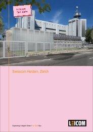 Swisscom Herdern, Zürich - Leicom AG