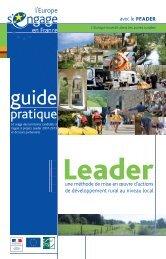 Guide pratique Leader Una Leader+ - Réseau Rural Français