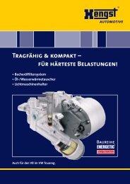 Download [464.1 KByte] - Hengst GmbH & Co. KG
