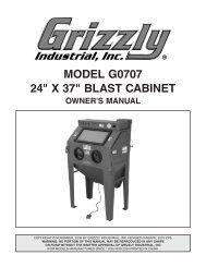 MODEL G0707 24