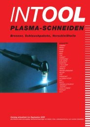 Plasma-Verschleißteile