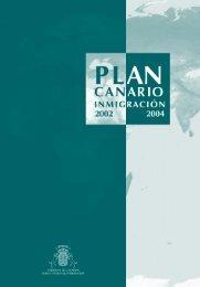 Plan Canario de Inmigración - Gobierno de Canarias