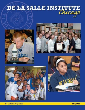 May 2008 Issue - De La Salle Institute
