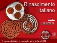 Dati Cinema 2007 - Anica
