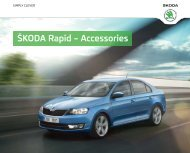 ŠKODA Rapid – Accessories - Škoda Auto